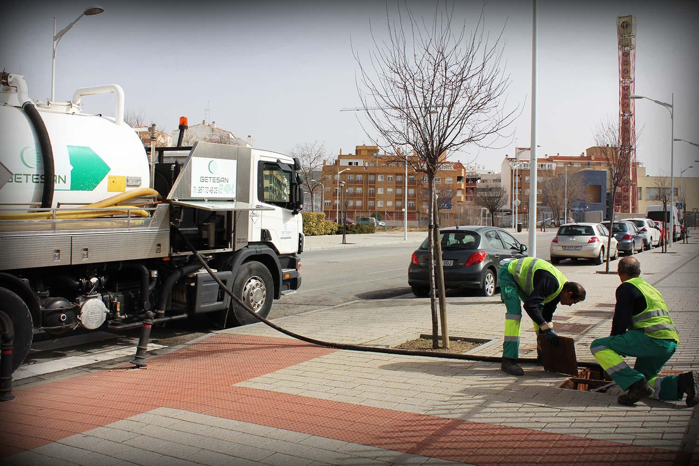 Limpieza de tuberías para ayuntamientos