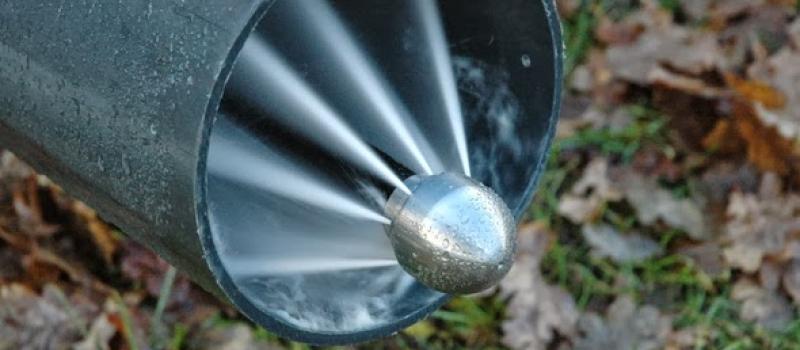 Limpieza y mantenimiento de tuberías   Saneamiento urbano