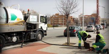 Trabajos de limpieza de tuberías para ayuntamientos