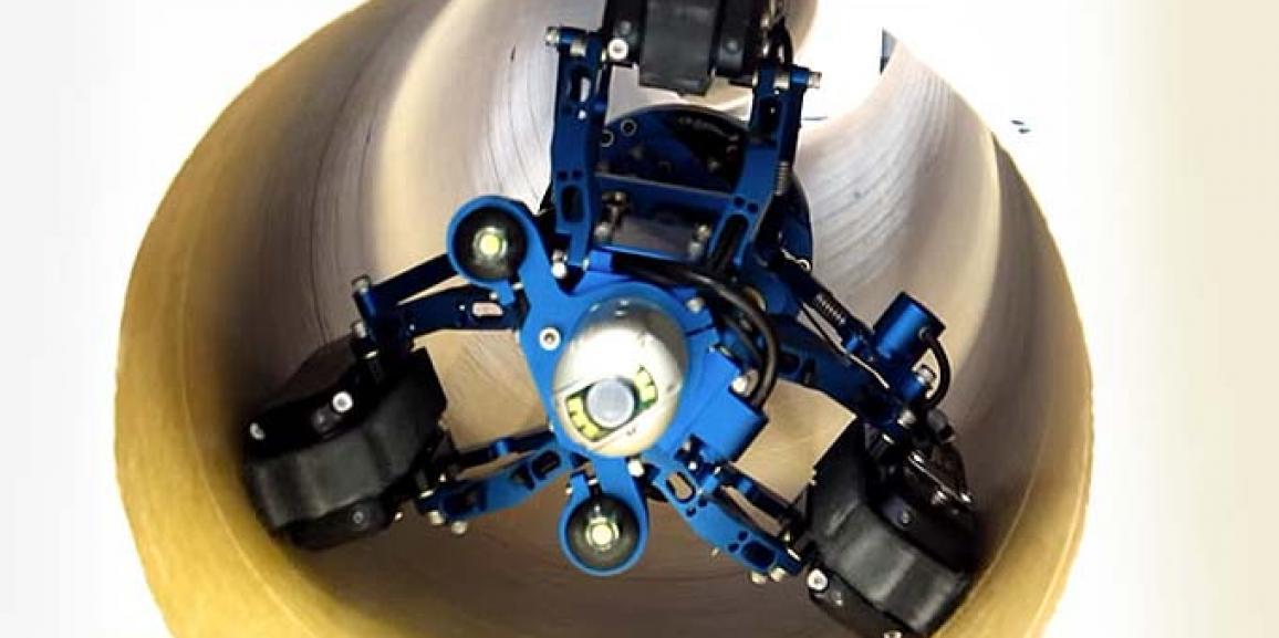 Diagnóstico en inspección de tuberías con cámaras de TV