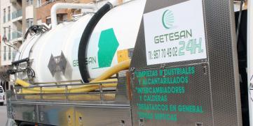 Extracción de lodos en Albacete