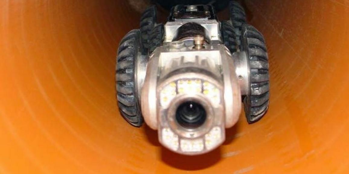 Tipos de cámara de TV para inspección de tuberías