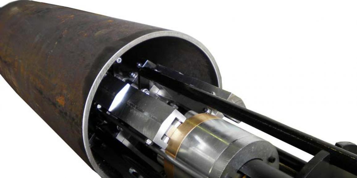 Robots de fresado interior de tuberías